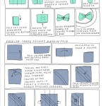 4 Super Easy Napkin Folding Techniques For Your Next Dinner Party The Secret Yumiverse Wonderhowto