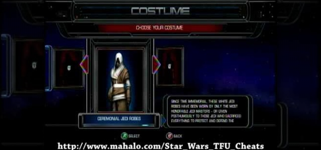 How To Unlock Star Wars The Force Unleashed Costume Cheats Xbox 360 WonderHowTo