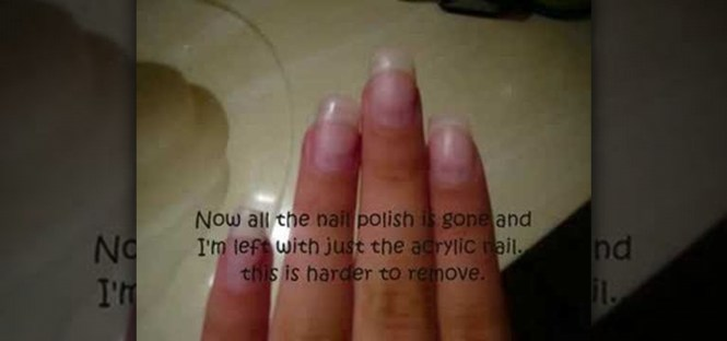 Get Ations How To Remove Acrylic Nails Without Acetone At Home Nail Varnish Remover