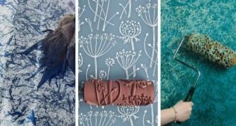 Rullo per pittura a macchina per 5 pollici spazzola a rullo verde decorazione della parete della casa dello strumento fai da te pitture e trattamenti per. 9 Strepitosi Effetti Fai Da Te Per Dipingere Le Pareti Di Casa In Modo Originale E Creativo Creativo Media