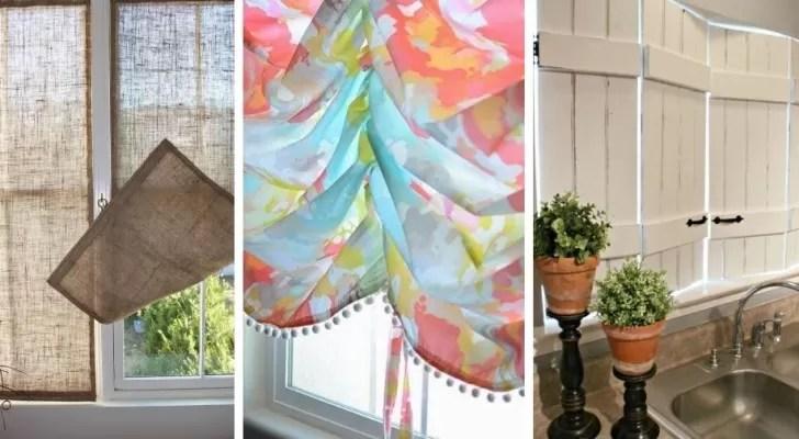 I tessuti e i colori; 17 Spunti Creativi Per Rinnovare L Aspetto Delle Vostre Finestre Realizzando Tende E Pannelli Fai Da Te Creativo Media