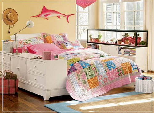 Your bedroom shouldn't just be a place to lay your head — it's the most personal space in your entire home. Bedroom: The Castle of Teen Girls - Cute Furniture