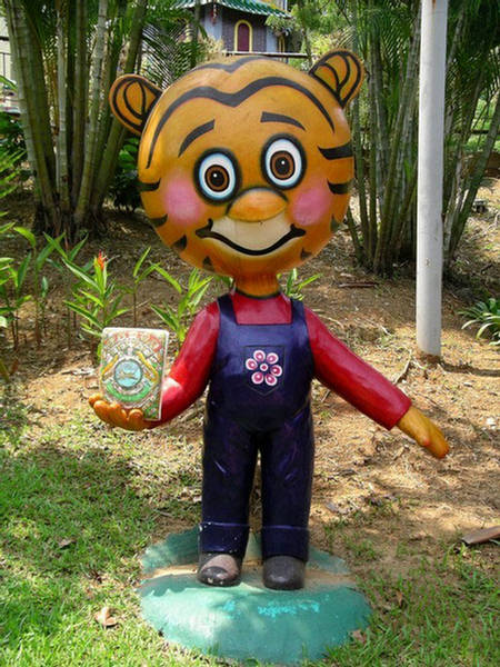 Tiger Balm Gardens Mythological Theme Park  Singapore