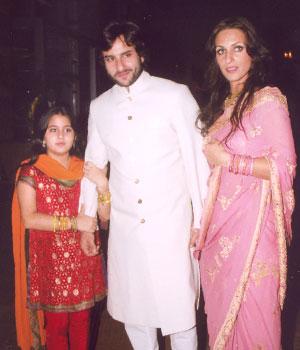 Image result for saif sara ali khan young
