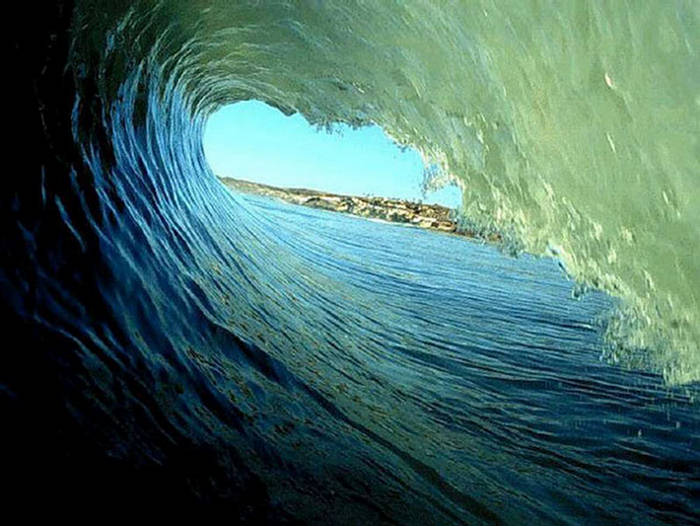Under Waves Of Sea Beautiful Photography