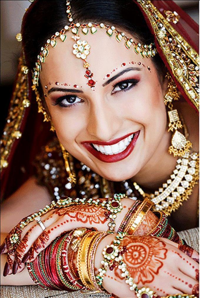 bridal makeup smokey eye brown eyes looks tips 2014 images