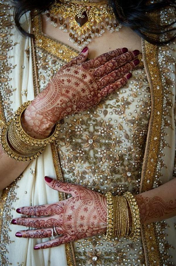 Bridal Mehndi Hands And Bangles Photography