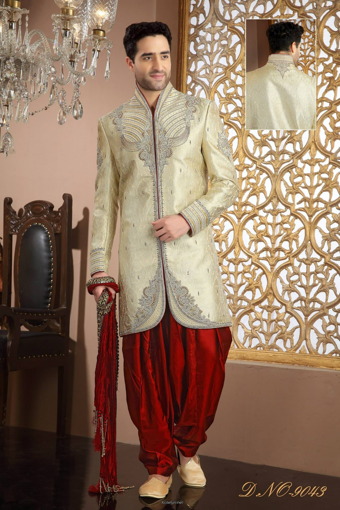 Groom Wedding Day Sherwani Collection