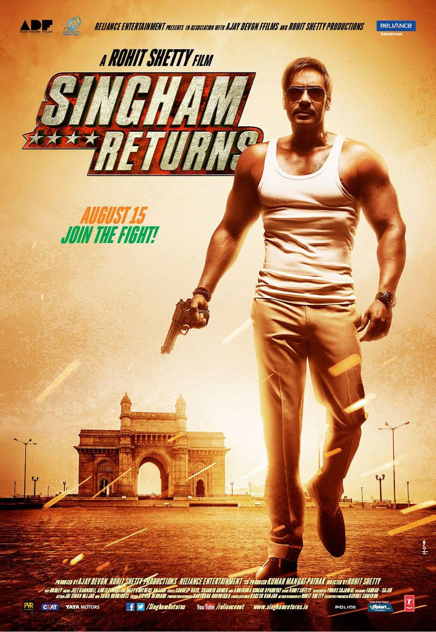 1 day ago· kareena kapoor shares first pic of jeh on saif ali khan's birthday ( at the quint, we are answerable only to our audience. Singham Returns Movie Posters - XciteFun.net