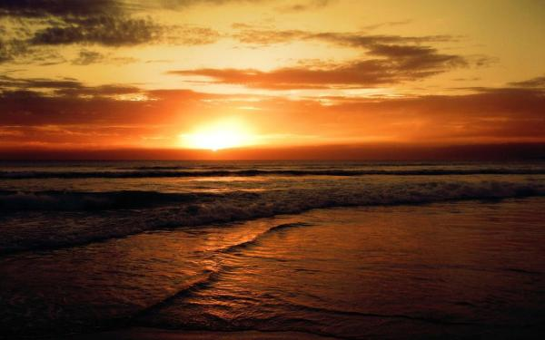 Refreshing Images of Sunset At Beach XciteFunnet