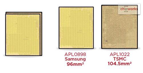 Процессоры Apple A9 от TSMC потребляют больше энергии