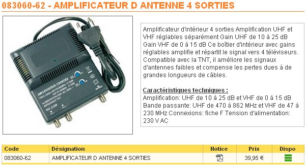 Amplificateur Tv Brico Depot Gamboahinestrosa