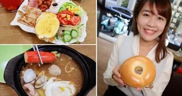 新竹早午餐也有鍋燒意麵!中南部朋友期待的小肉豆在覓食早午餐!阿惠冰店旁