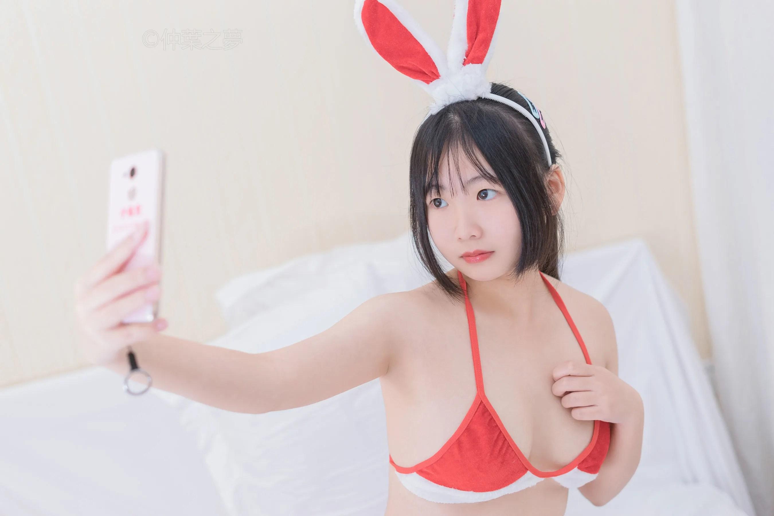 图片[12] - 《火红小兔子》 [轻兰映画] Grand.006 写真集[63P] - 唯独你没懂