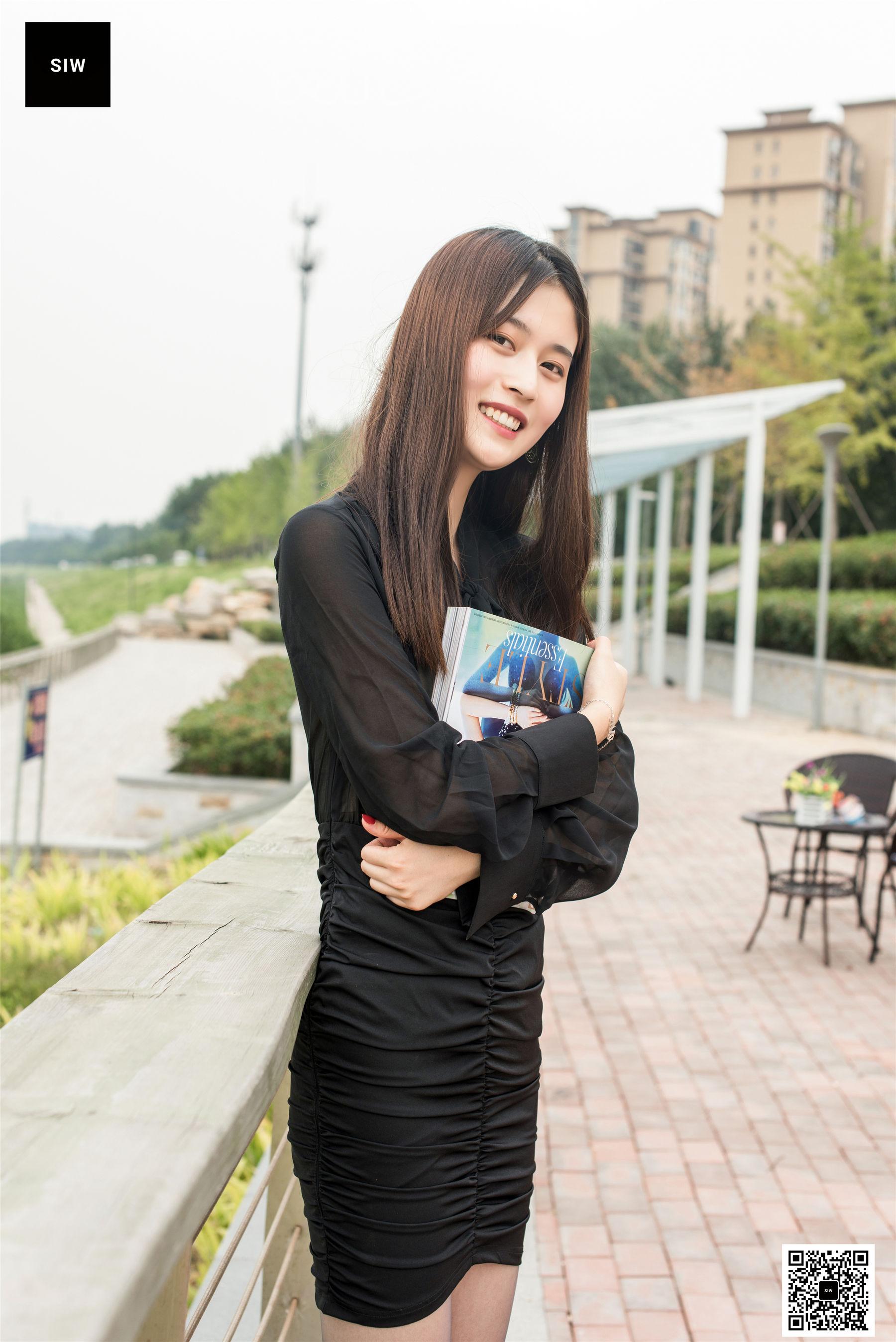 图片[10] - [斯文传媒SIW] 甄珍 《江边女郎》 写真集[60P] - 唯独你没懂