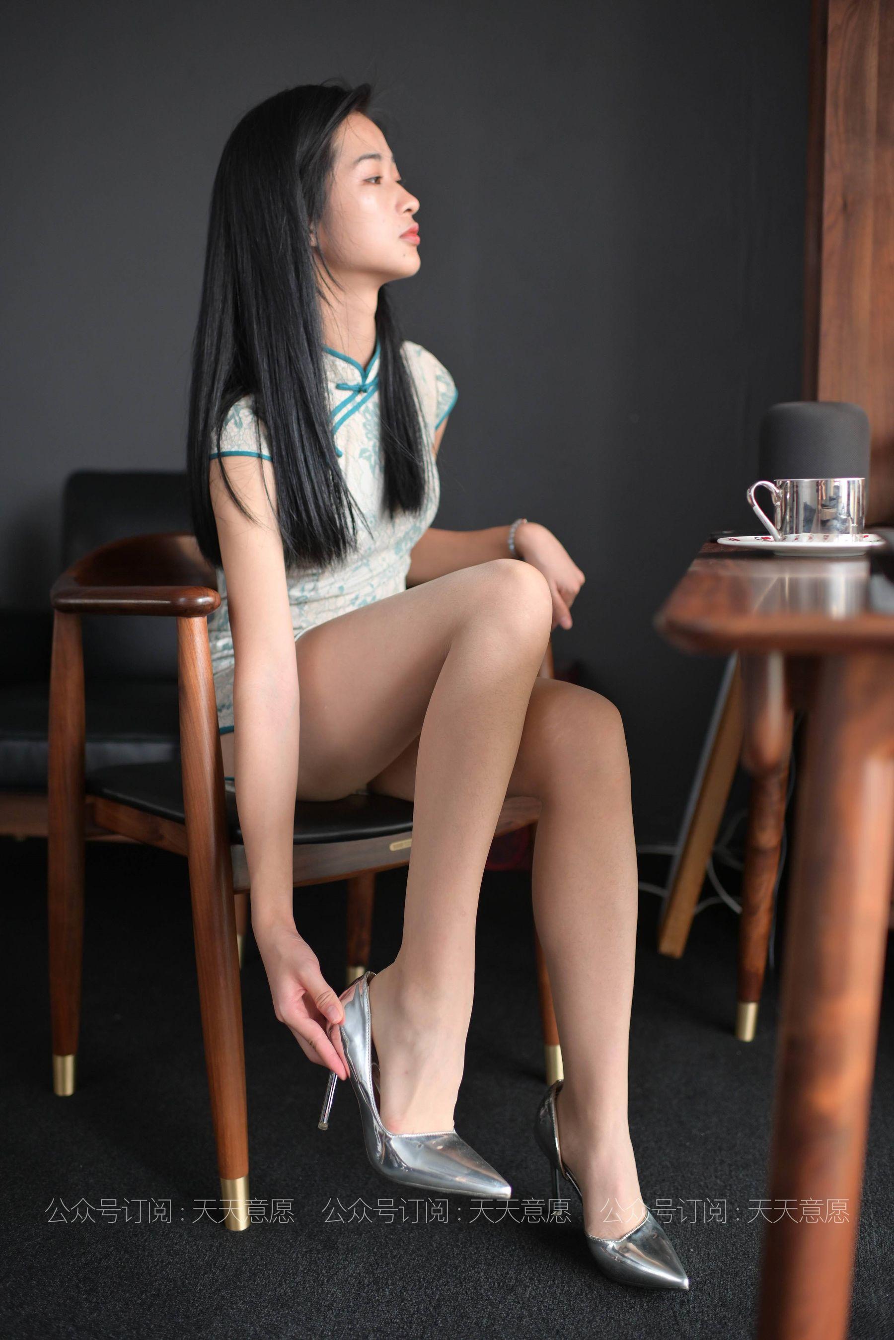 [IESS] 丝享家788: 宁宁《爱看书的旗袍美女》[77P]插图(7)