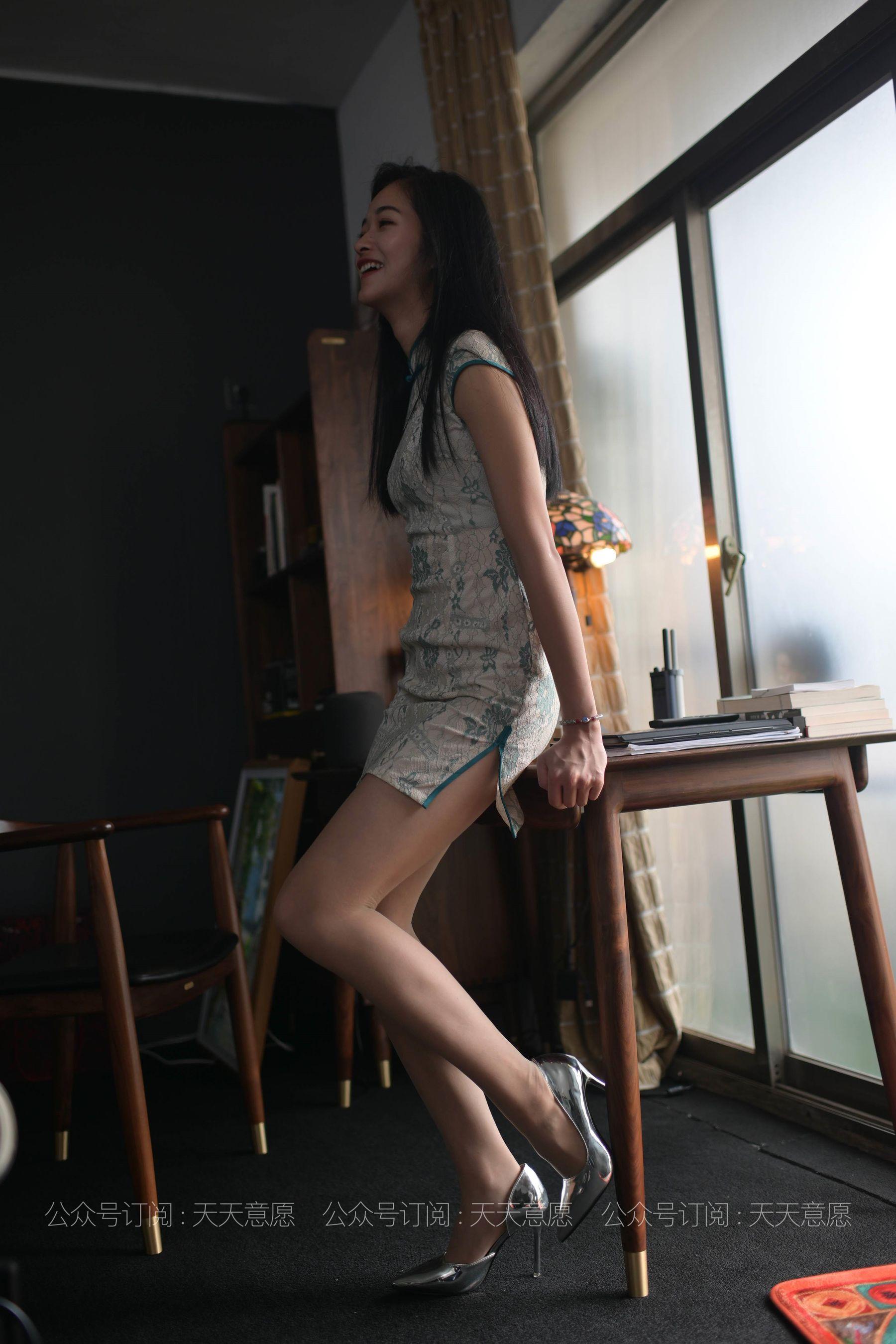 [IESS] 丝享家788: 宁宁《爱看书的旗袍美女》[77P]插图(3)