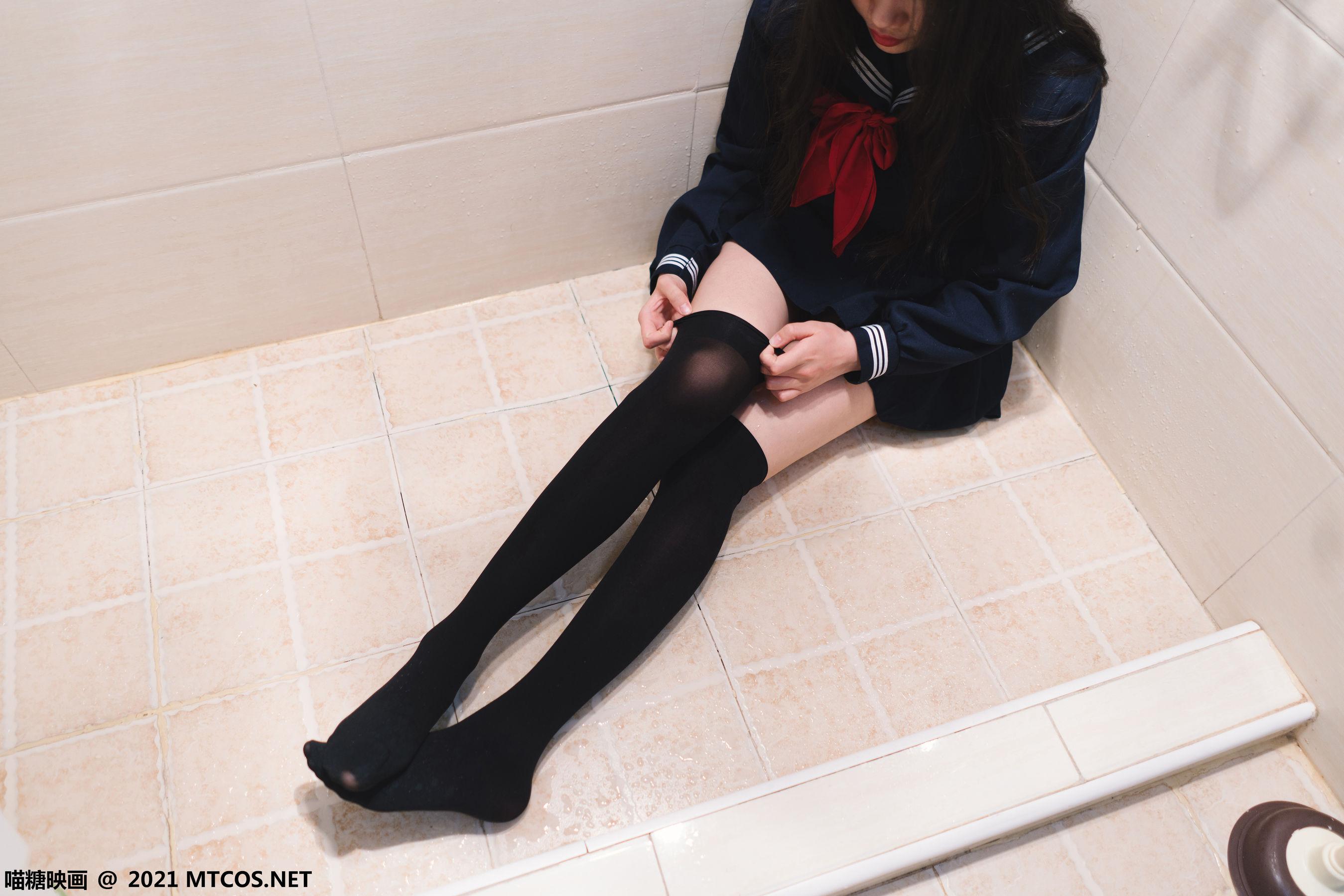 [喵糖映画] VOL.410 浴室JK 写真套图[29P]插图(2)