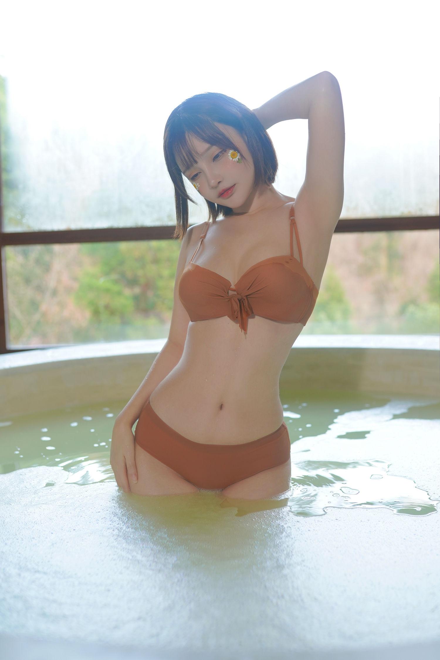 千夜未来(Senya Miku)- 温泉 写真套图[14P]插图(6)