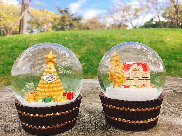 【蒐藏】金莎水晶球 // 7-11金莎巧克力不限金額即可喜獲限量金莎水晶球,共有兩款,適合送給女孩兒當聖誕 ...