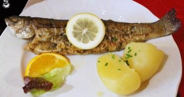 奧地利哈修塔特美食︳在白羊之家(Gasthof Weisses Lamm)享用鱒魚料理