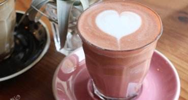 台南咖啡︳被愛咖啡-網美必喝粉紅拿鐵,藏不住的戀愛滋味