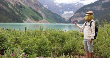 露易絲湖-加拿大仙境,班夫國家公園必去景點,緊鄰城堡酒店