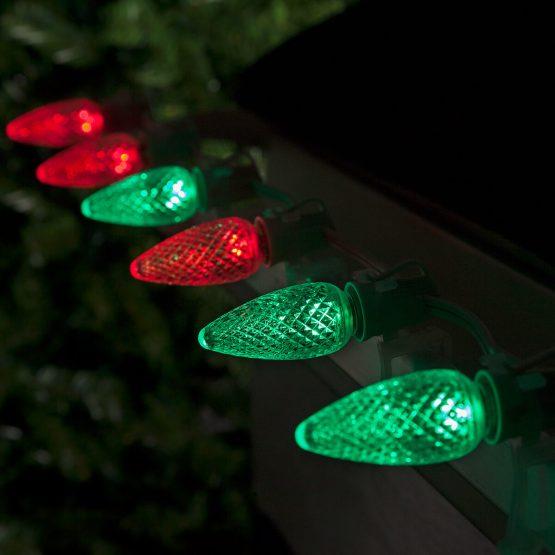 Color Multicolor Change Bulbs Led C9 Light Christmas