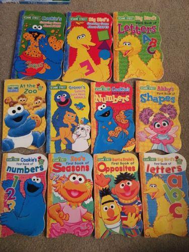 Sesame Street Abc Board Books