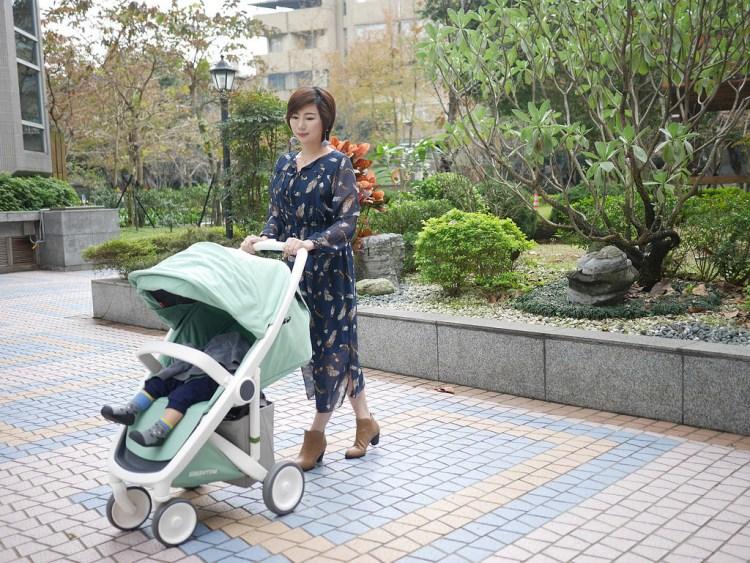 [親子] 時尚媽媽的最愛-荷蘭Greentom經典嬰兒推車(環保、輕便、美型)