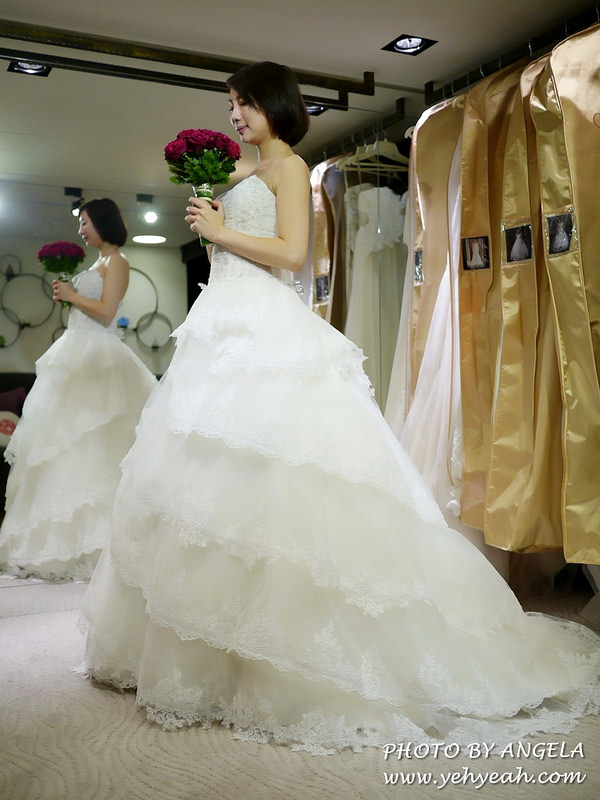 C'ESTBON WEDDINGS金紗夢-試穿婚紗初體驗