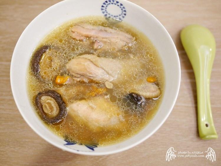[食譜] 懶人食譜3-香菇雞湯