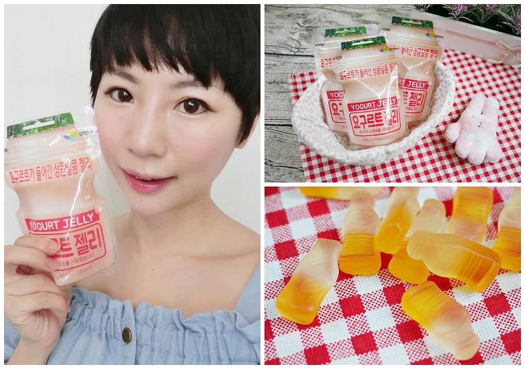 [零食] 酸酸甜甜好滋味-韓國LOTTE Q樂多果凍軟糖