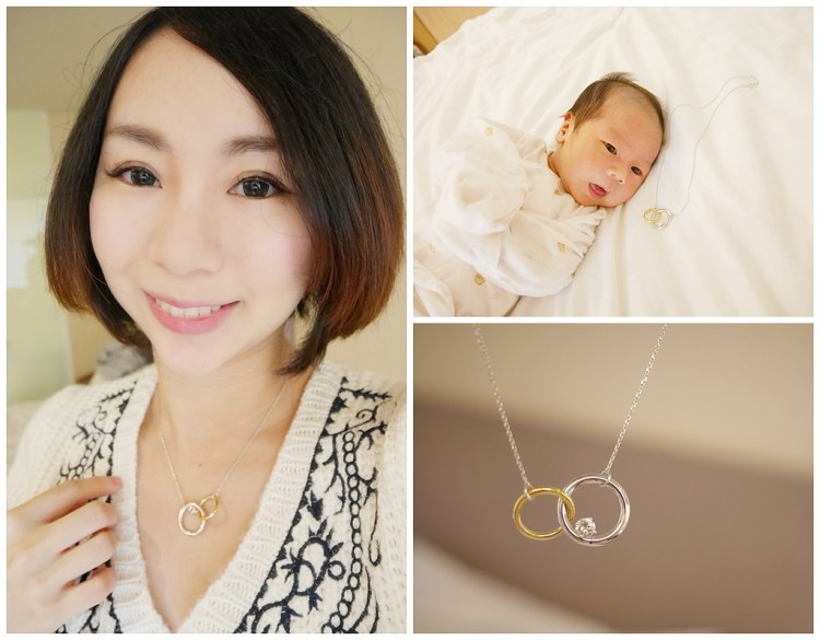 送給寶寶丸子的第一個客製化精品-A&J Collection亞爵鑽石