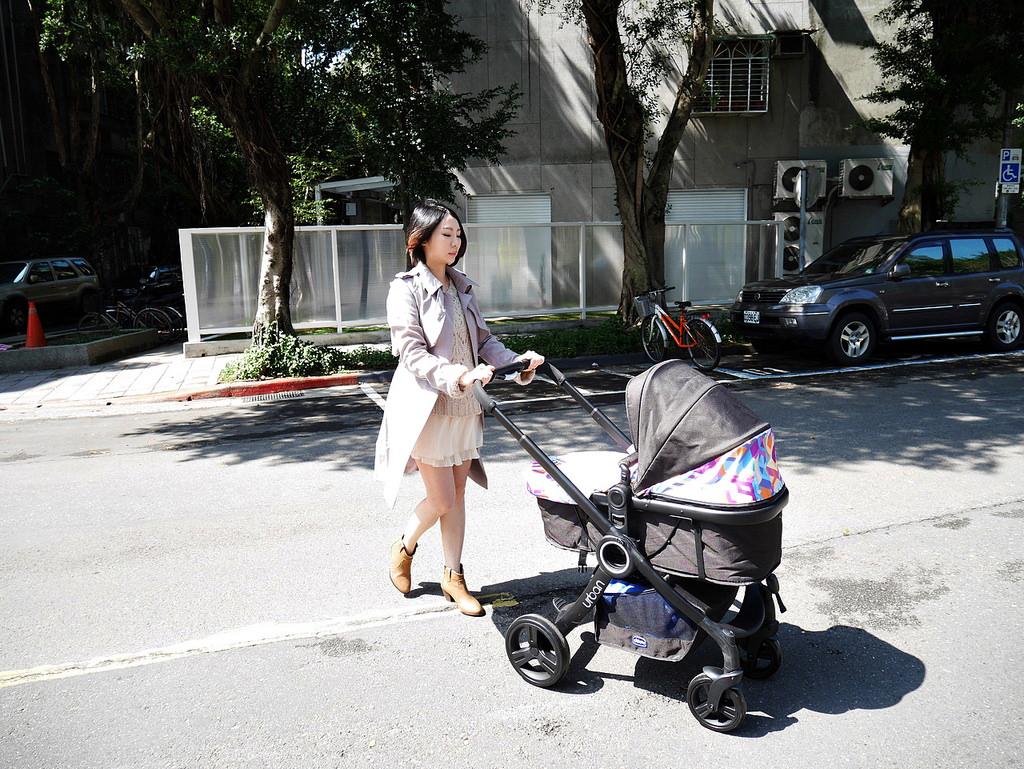 [親子] 結合臥床、推車、汽座,從0m用到3y的Chicco Urban Plus