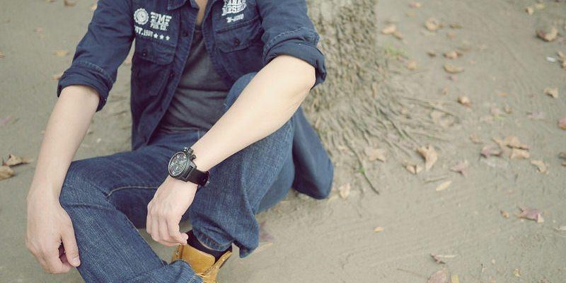 老公的情人節禮物-elegantsis皮革腕錶