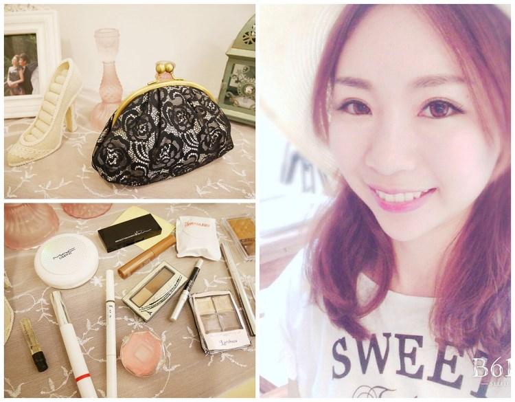 [彩妝] 小雯的化妝包分享(輕便、持妝、多功能)