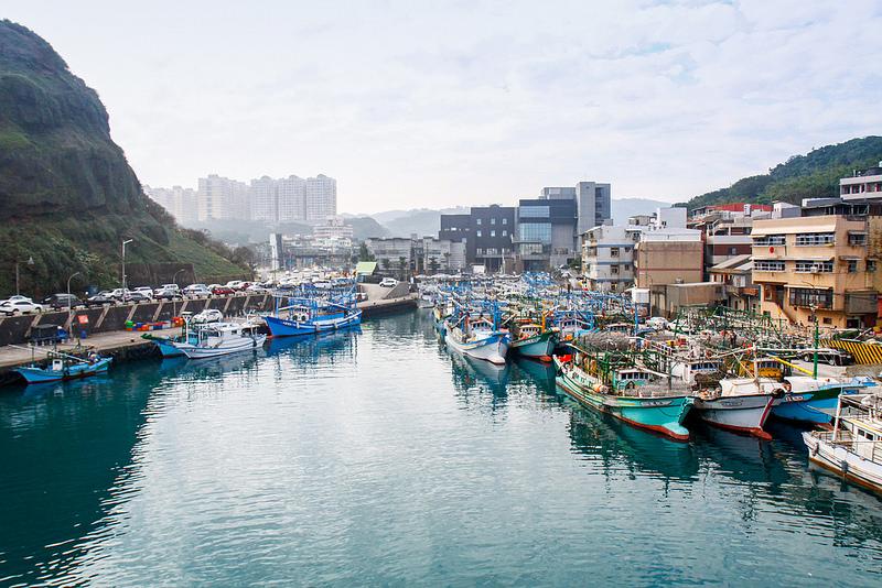 基隆長潭里漁港
