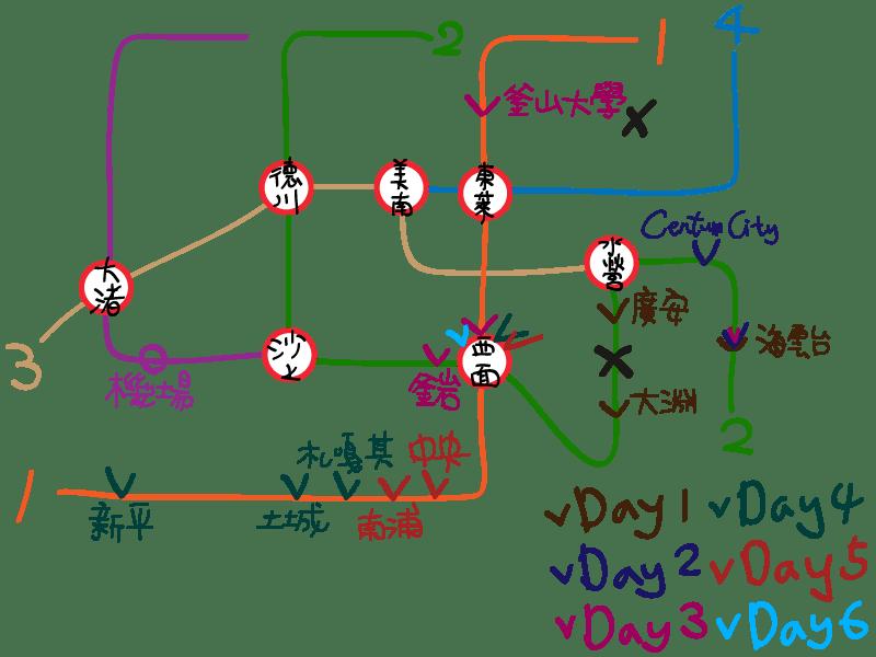 【釜山旅遊】韓國釜山六天五夜自由行Day5-Day6:40階梯、太宗臺、南浦商圈、西面商圈、鳳雛燉雞