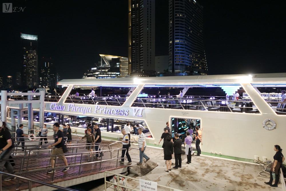 曼谷昭披耶河公主號遊船晚宴