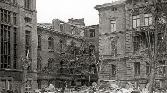 Helsinkiä pommitettiin talvisodan ensimmäisenä päivänä 30.11.1939.