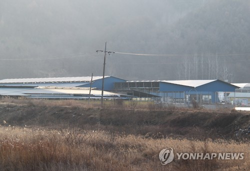 적막에 휩싸인 보은 구제역 발생농장