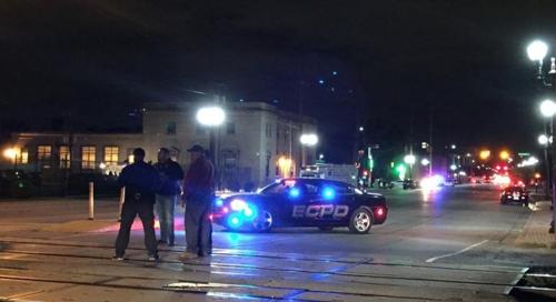 미국 시카고 근교 도시 우체국 폭발물 사건 현장