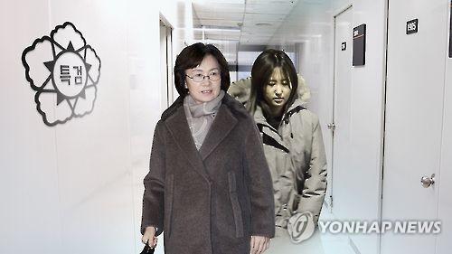 최경희 전 이화여대 총장 구속(CG)