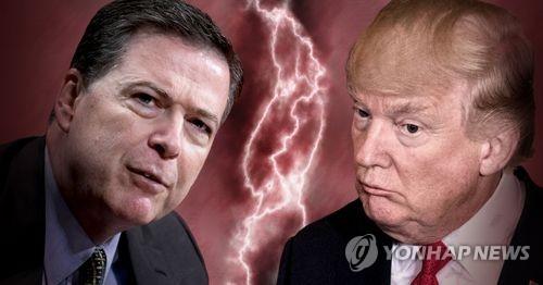 트럼프, 코미 FBI국장 해임 후폭풍 (PG)