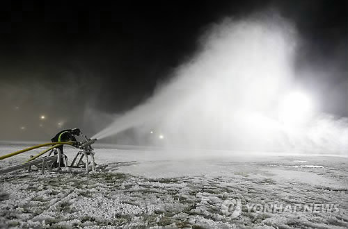 Ski resort ready for opening