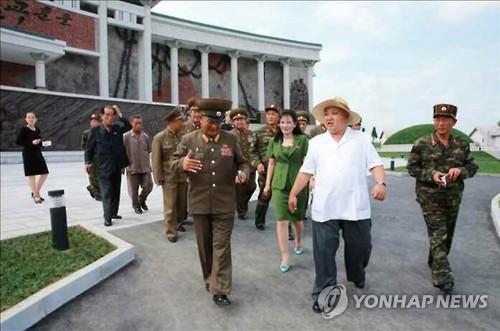Kim Jong-un visits museum