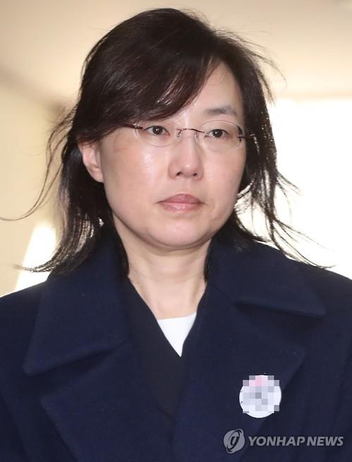 조윤선 전 청와대 정무수석·문화체육관광부 장관