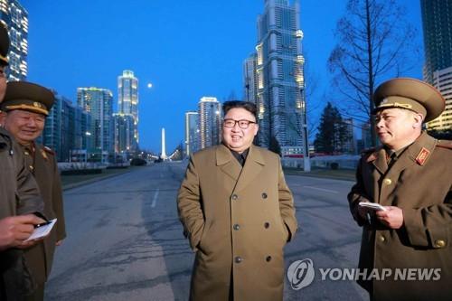 N.K. leader orders speedier new town construction