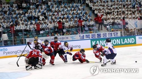 Inter-Korean ice hockey match